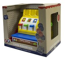 Kids Cash Register Fisher Price Classics Boy Girl Gift Toy Pretend Play New