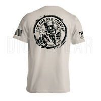 Uncle Sam For God and Country American Military Patriotic Men's T-shirt