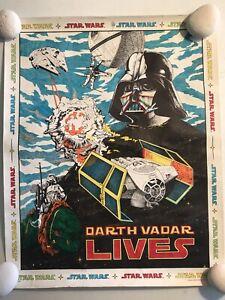 Star Wars 1978 Craft Master Poster Art Set Darth Vader Vadar Lives May Force Be