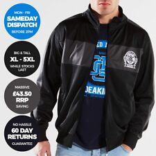DEAKINS Mens Tracktop Full Zip Jacket Activewear Top Size XL 2XL 4XL 5XL XXXXXL