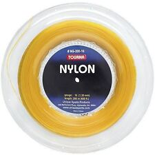 Tourna Nylon Tennis String 200m Reel 16G - Gold