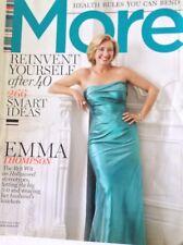 More Magazine Emma Thompson The Brit Wit February 2009 090217nonrh