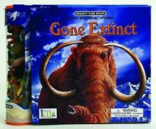 Groovy Tube Books: Gone Extinct! (Fact Book, Game Board and Collectible Figurine