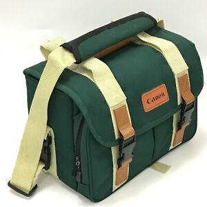 Canon Camera Carry Case Shoulder Bag Dark Green DSLR SLR Accessory 163142