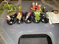 Marvel Heroclix Avengers Earth X Lot! Captain America, Iron Man, Hulk, and more!