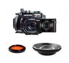 Fantasea FG7XII A Underwater Housing AND Canon G7X II Camera w/ BigEye & RedEye