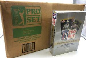 1990 Pro Set Golf Inaugural Edition PGA Tour Card Set Case (60)x 100 Card Sets