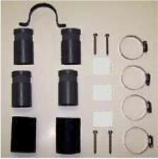 """Split Kit with couplings, CPVC adapters, strap clips for 2"""" Solar Pool Panel"""