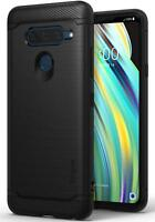 For LG V40 ThinQ Ringke [ONYX] Extreme Protection Rugged TPU Flexible Cover Case