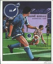 Guinea-Bissau block272 (complete issue) used 1988 eat ´88: Foot