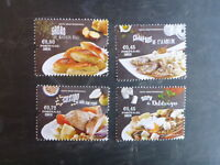 2015 PORTUGAL MEDITERRANEAN DIET FOOD SET 4 MINT STAMPS MNH