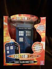 Doctor who Tardis Talking Money Bank