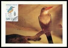 France Mk 1991 Kingfisher Kingfisher Maximum Card Carte Maximum Card Mc cm al79