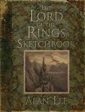 Lord of The Rings Sketchbook by Lee Alan Hardcover