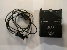 AKG C 417 Lavalier Microphone with AKG B29 Battery pack