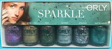 ORLY SPARKLE Nail Polish Set ~ Fun Bling Tinsel Mirrorball Glitterbomb Spotlight