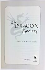 The Dragon Society Book 2 of Obsidian Chronicles by Lawrence Watt-Evans Hrdcvr