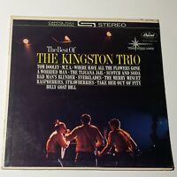 Kingston Trio ‎– The Best Of The....:  Capitol Records 1972 LP (Country)