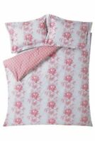 Cabbages & Roses Charlotte  Duvet Cover or Pillowcase Pink Plaster