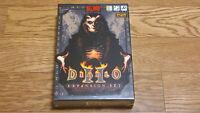 Super Rare Diablo 2 Expansion Set Blizzard Korean Version PC Windows Game DVD