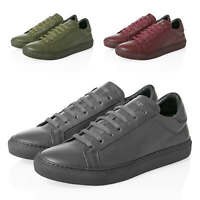 Antony Morato Herren Sneaker Low Top Echtleder Lederschuhe Herrenschuhe Schuhe