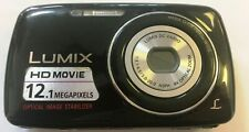 Panasonic LUMIX DMC-S1 12.1MP Digital Camera - Black (B44)