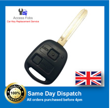 New Remote key Fob for Toyota RAV4, Privia, Landcruiser 2 button 2003-06 (T01)