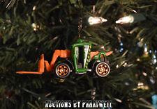 Custom 1/64 Skytrak Fork Lift Christmas Ornament Genie CAT JLG Lull Case Deere