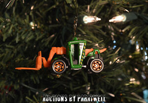 Custom 1/64 Skytrak Fork Lift Christmas Ornament Genie CAT JLG Lull Case Deere