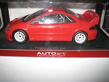 AUTOART 1.18 PEUGEOT 307 WRC 2005  PLAIN BODY VERSION RED