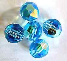 Claro Vidrio Cristal Checo Facetado Cuentas Bicónicas 5mm 60 Piezas AB Arte Manualidades Hobby