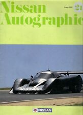 Nissan Autographic Magazine No 21 May 1990 Export Brochure 300ZX GTP ZX-Turbo