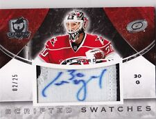 2008-09 The Cup Cam Ward Scripted Swatches Autograph Patch #2/25