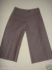 NEW * Harolds * BROWN Stretch CAPRIS * Cropped Pants * WORK Casual * sz 0 or 2