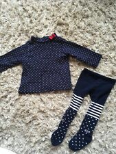 Baby Girls Weekend A La Mer Top And Matching Tights 6m