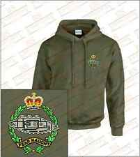 The Royal Tank Regiment Crested Hooded Sweatshirts