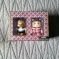 """Disney Vinylmation 3"""" Beauty and the Beast D23 Combo Pack Belle Winter Nib"""
