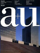 Exc* AU Architecture and Urbanism ( a+u ) Magazine #313 October 1996 from Japan