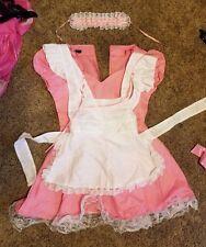 Sissy Pink Maid Dress Crossdress Trans