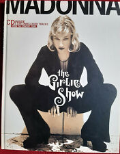 madonna rare livre + cd the girlie show. ANGLETERRE.