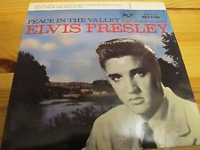 "RCX 7199 UK 7"" 45RPM 1982 ELVIS PRESLEY ""PEACE IN THE VALLEY"" EP EX/VG"