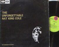 NAT KING COLE - Unforgettable ~ VINYL LP
