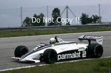 Riccardo Patrese Brabham BT49D Brazilian Grand Prix 1982 Photograph