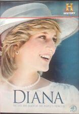 PRINCESS DIANA LIFE DEATH PEOPLE'S PRINCESS DVD RARE 5 Hours Viewing 4 Discs
