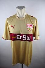 VFB Stuttgart Trikot 2006-07 Gr. XXL Puma EnBW Jersey / maillot gold vintage