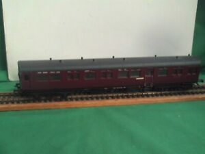 """AIRFIX BR MAROON """"DIDCOT"""" AUTO COACH MODIFIED IN GOOD USED CONDITION"""