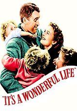 Es ist ein wunderbares Leben Film Foto drucken Poster Film Kunst James Stewart kombiniert 3