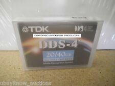 NEW 1/PK TDK DC4-150 DDS-4 4mm 150M 20GB/40GB DAT40 Data Tape Cartridge 27505