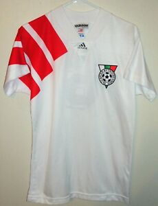 VTG ADIDAS BULGARIA NATIONAL TEAM FIFA 92 SOCCER JERSEY FOOTBALL SHIRT STOICHKOV