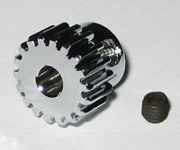 Duralumin 18 Tooth Pinion Gear for 3.17 mm Shafts - 48 Pitch - 18T - 3.17mm